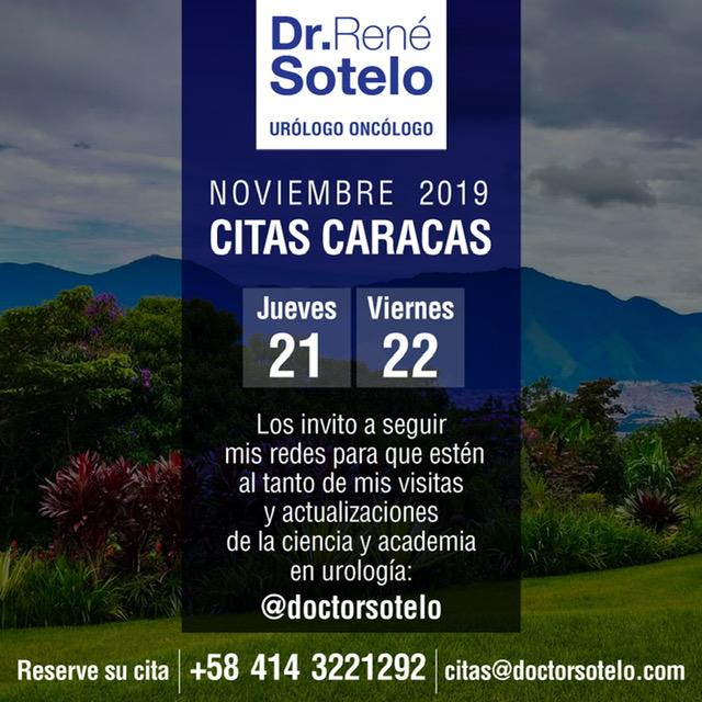 Agenda Noviembre 2019 Visita a Caracas